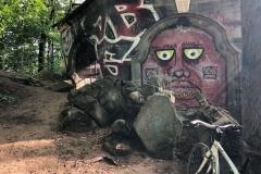 Ankommen an der Ruine